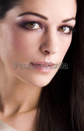piekny mily makro zblizenie close up