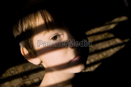 child looking sad