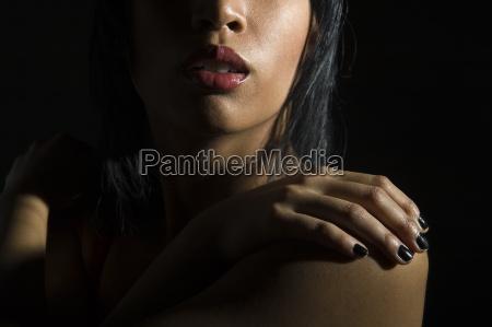 kobieta womane baba palec portret potrait