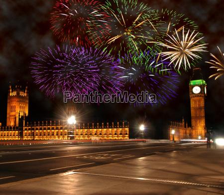 nowy rok w londynie