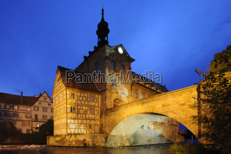bamberg old town old town hall