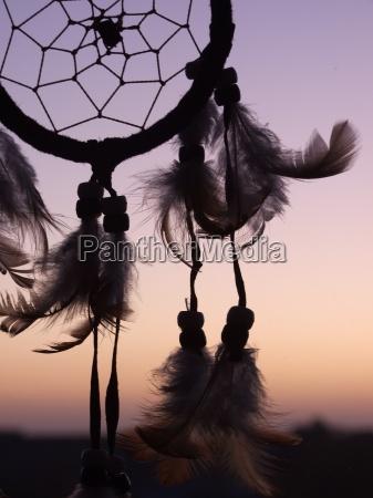 marzenie snic pioro indianin indianie piktogram