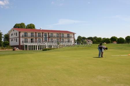 zielony golf golfiarz zielone zielona mecklenburgvorpommern