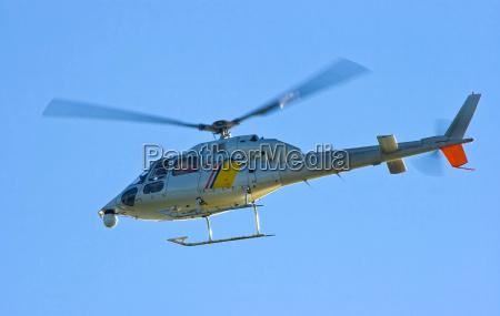 niebieski helikopter smiglowiec hackebeil auslueften ludt