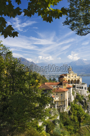 klasztor ticino madonna klasztorny konvent