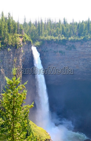 wodospad kanada obszar wysokiego cisnienia river