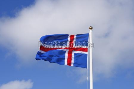 flaga narodowa islandii