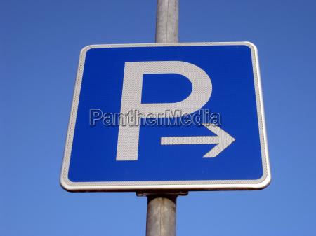 obiekt parking regulamin organizacja tarcza sygnal