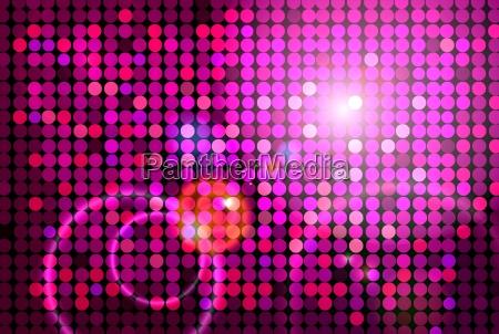 rozowe disco tlo