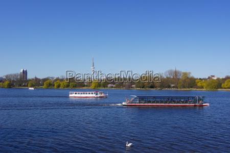 hamburg, jezioro zaporowe, süsswasser, jezioro, inland, aqua - 3047657