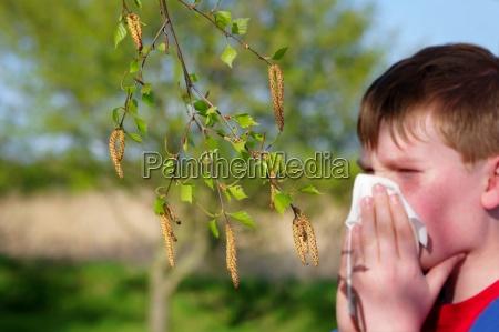 zdrowie zdrowia katar przeziebienie niezyt pylek