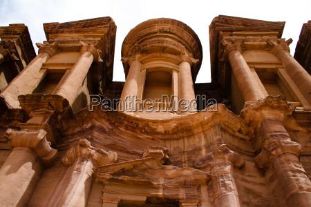 temple in petra jordan