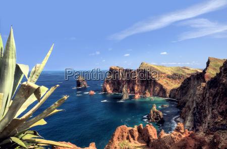 wschodnie wybrzeze wyspy madery ponta de