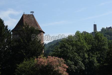 weinheim two castles town