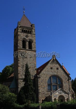 st peters church weinheim two castles