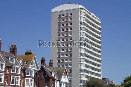 high rise building eastbourne england
