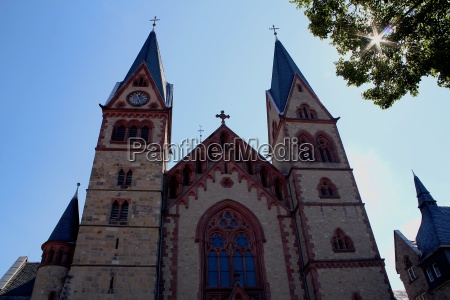 the cathedral to heppenheim