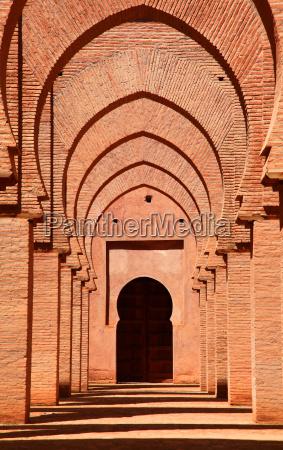 pomnik maroko meczet torbogen kulturstaette