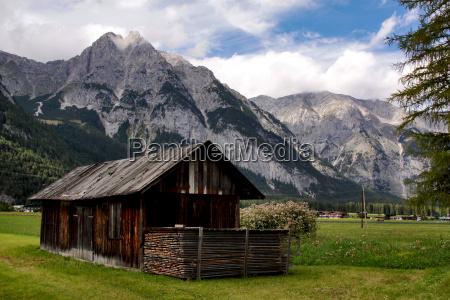 gory alpy austria tyrol zlozyc chata