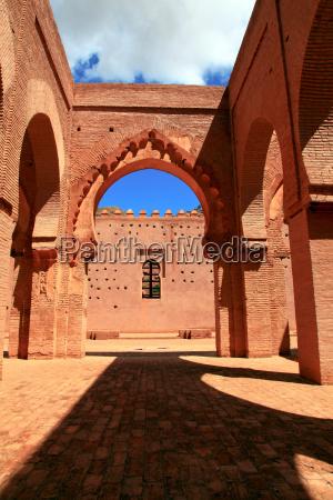 pomnik antyk warownia maroko meczet sredniowiecze
