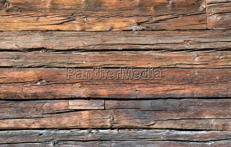 stare drewniane sciany