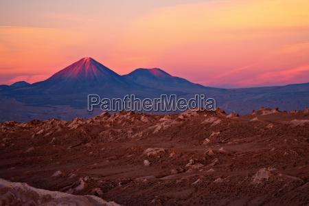 pustynia zachod slonca abendrot wieczorne kolory