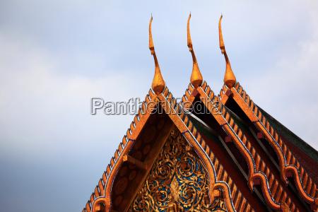 swiatynia budda tajlandia pagoda bangkok ornament