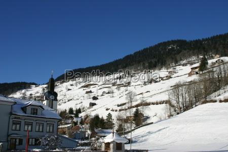 zima zimowy szwajcaria dawne starzy
