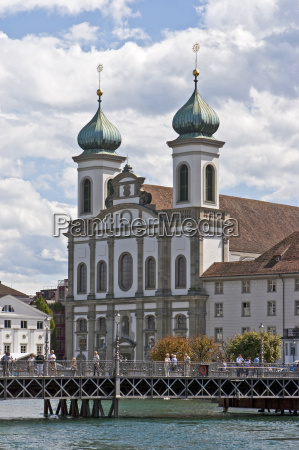 jesuit church in lucerne