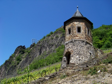 tower in the vineyard