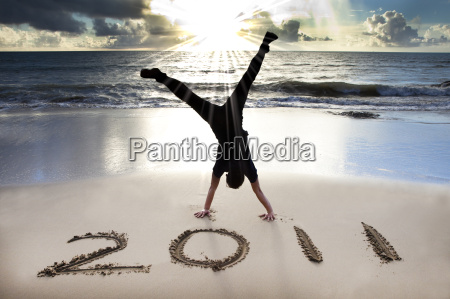 happy new year 2011 on the
