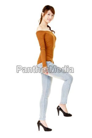 kobieta womane baba dama elegancja kroki