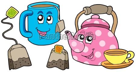 kolekcja herbaty