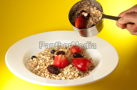granola plate