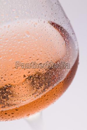 lampka z winem rose