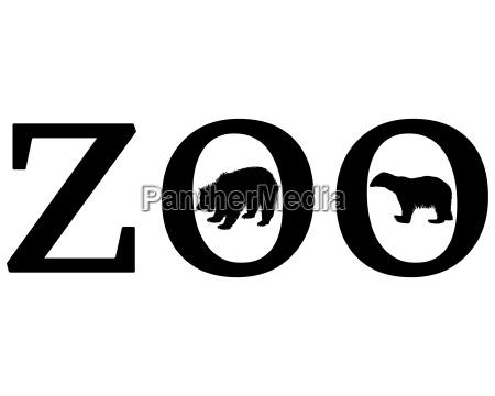 sinal opcional jardim grafico animal urso