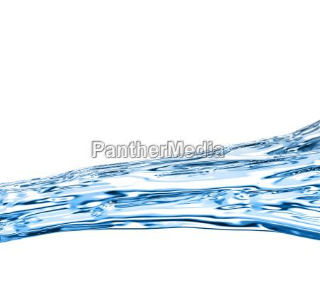 niebieski fala czysty wycierac badeort heilbad