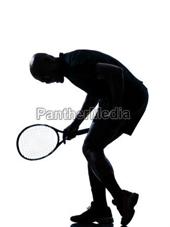 man tennis player