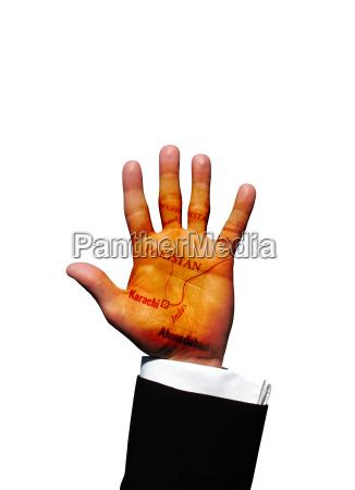 pakistan hand