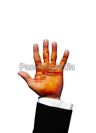 barcelona hand