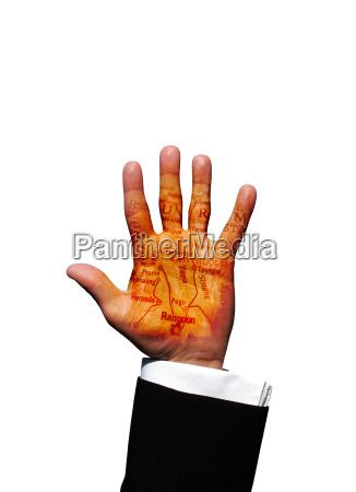 burma hand