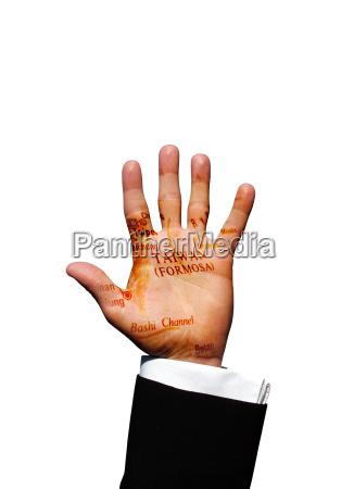 taiwan hand