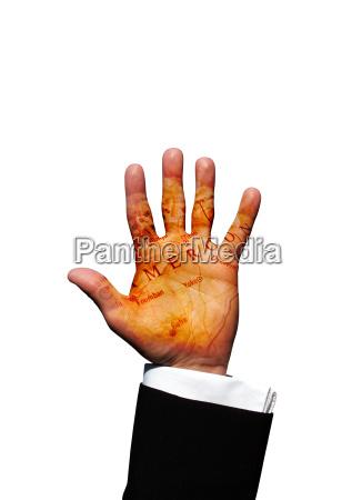 cameroon hand