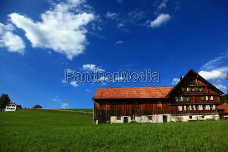 farm w appenzellappenzellszwajcaria