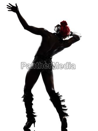 czlowiek tancerz