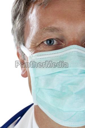 lekarz medyk doctor medyczny doktor twarz