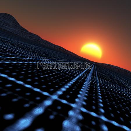 zostawic isc znikniecie vanishingly niebieski horyzont