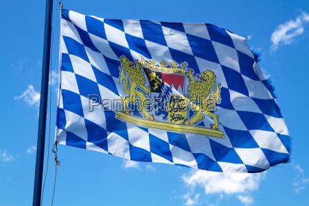 waving flag bavaria