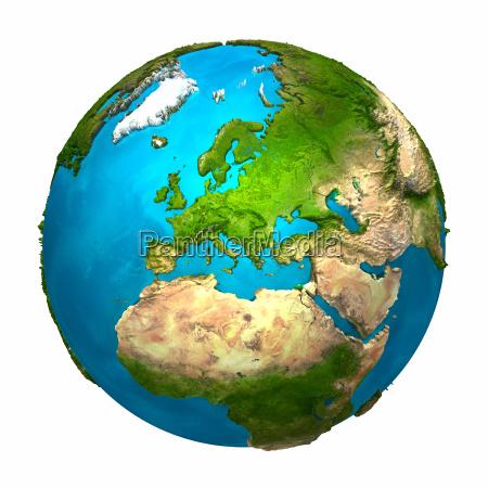 planeta ziemia europa