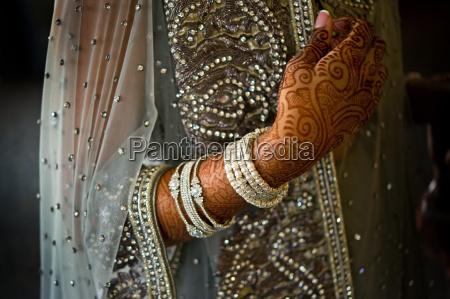 szczegoly strzal z henna na indyjskiej